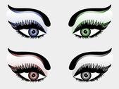 Pretty eyes — Stock Vector