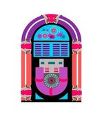 Juke Box Vector — Stock Vector