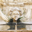 Limestone fountain — Stock Photo