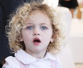 Beautiful toddler portrait — Stock Photo