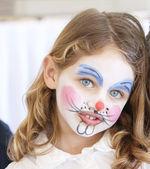 Face painting portrait — Stock Photo