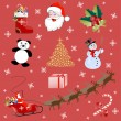 Christmas pictures - Stock Vector