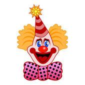 Celebration clown — Stock Vector