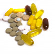Collection of vitamins and pills — Stock Photo #2389710