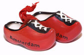Red holland shoes — Stock Photo