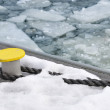 Drift ice in the habor — Stock Photo #2416573