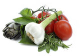 Italien cooking — Stock Photo