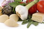 Mediterran cooking — Stock Photo