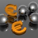 Euro symbol - 3D — Stock Photo #2488685