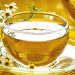 Stock Photo: Camomile tea