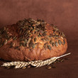 Stock Photo: Pumpkin core bread