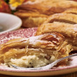 Quark-strudel — Stock Photo