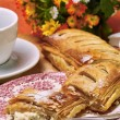 Stock Photo: Quark-strudel