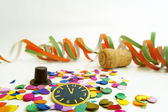 Silvester decoration — Stock Photo
