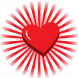 Royalty-Free Stock Vector Image: Red heart
