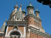 Orthodox Church in Nice — Stock Photo