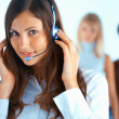 Foto Stock: Call Center Operator