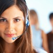 Call Center Operator — Stock Photo #2659303