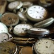 Stockfoto: Antique pocket watches