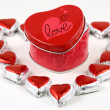 Sweet love box — Stock Photo