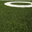 Fifty yard line — Stock Photo