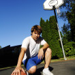 Basketball player - Stock Photo