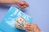 Kopen en betalen — Stockfoto
