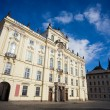 The archbishop palace and Prague castle — Stock Photo