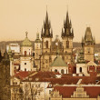 Stock Photo: View of Prague Castle