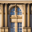 Zdjęcie stockowe: Detail from old building