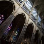 Saint Vitus cathedral — Stock Photo