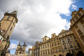 Old town square Prague — Stock Photo