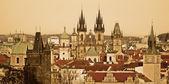 View of Prague Castle — Стоковое фото