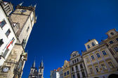 Prague - Old town sqaure — Stock Photo