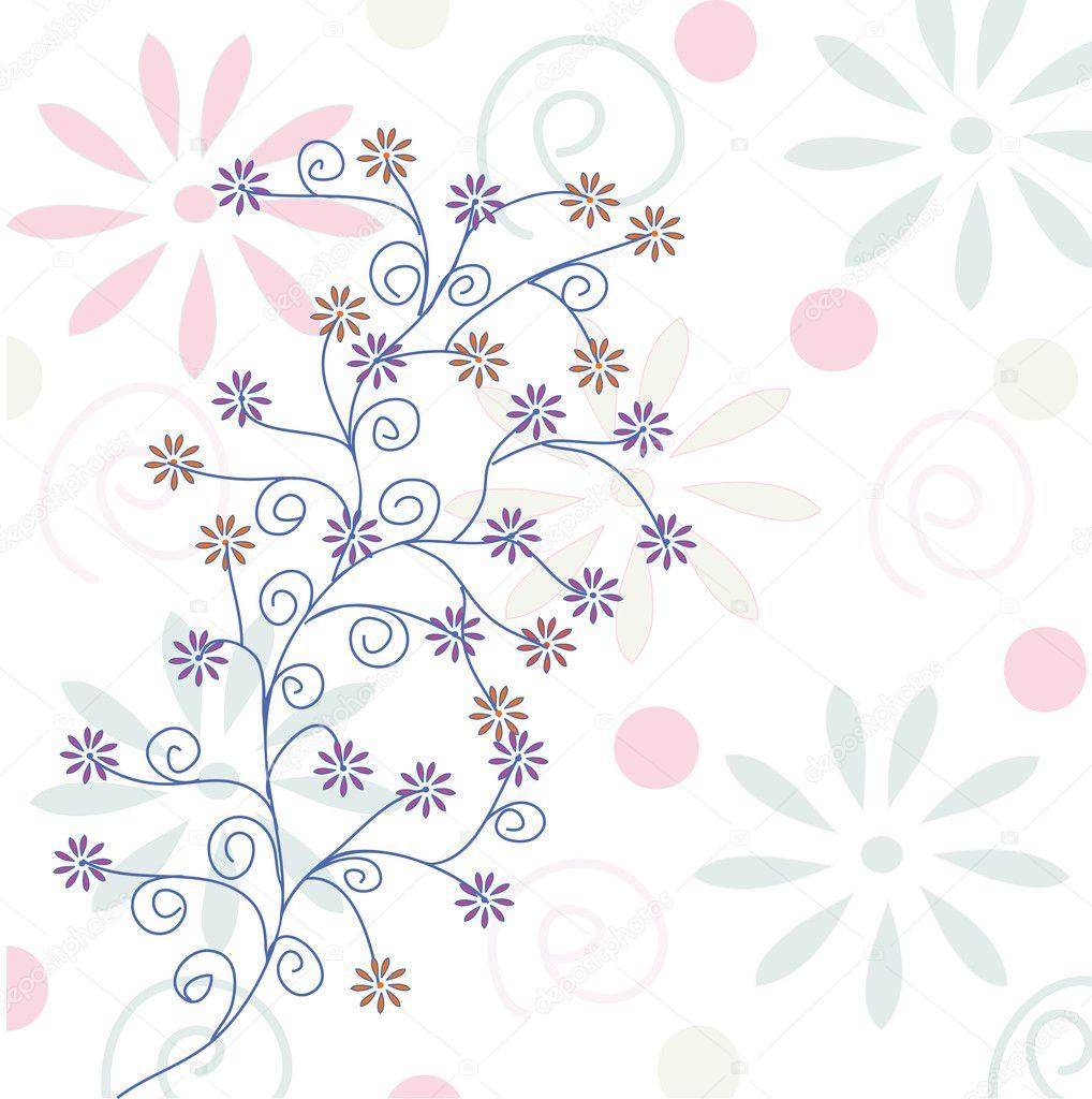 illustration soft floral - photo #9