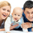 happy family — Stock Photo #2334569