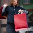 Young woman with shopping bags — Stock Photo #2387932