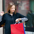 Young woman with shopping bags — Stock Photo #2388091