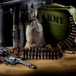 Military Still Life - Stock Photo