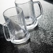Two Glass Mugs — Foto Stock #2442432
