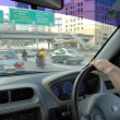 Driving to work — Stock Photo