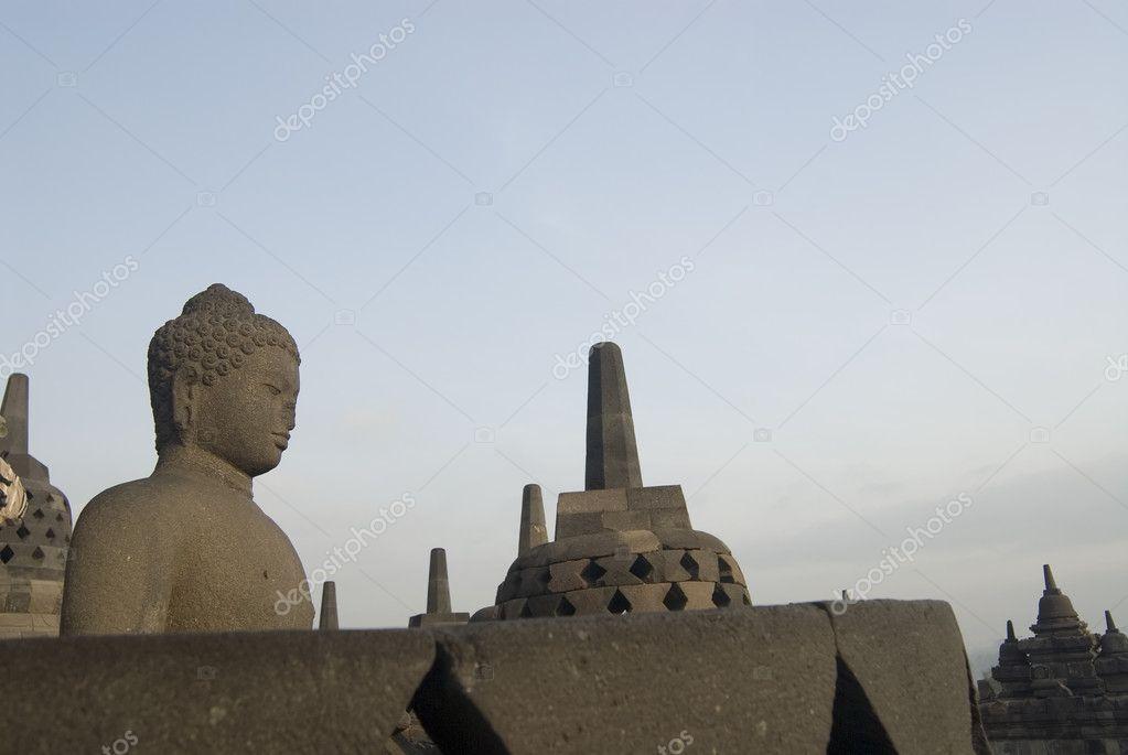 婆罗浮屠佛塔,java,印度尼西亚