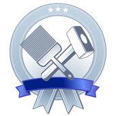 Wappen Handwerk — Stock Vector