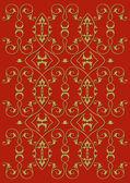 Hintergrund Floral rot — Wektor stockowy