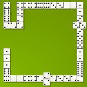 Domino — Stock Vector
