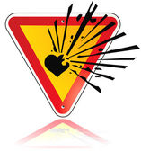 Herzklopfen — Stockvektor