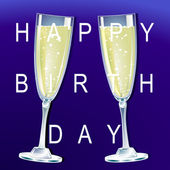 Happy Birth Day — Stock Vector