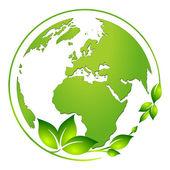 Pflanzen Welt — Stock Vector
