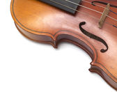 Art of vintage violin — Stock Photo