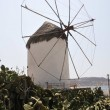 Stock Photo: MYKONOS ISLAND windmill